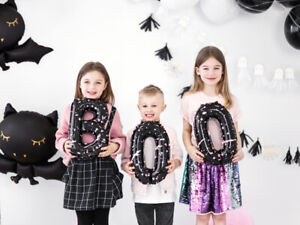 BOO Balloons Halloween Party Decorations Kids Trick Treat Spooky Pink Arch