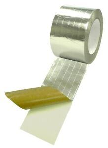 "T.R.U. Reinforced Aluminum Foil/Scrim/Kraft Jacketing Insulate Tape 3"" X 50 Yds"