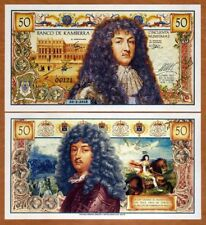 New listing Kamberra, 50 Numismas, 2018, Unc > King Louis Xiv of France commemorative