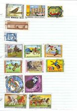stamps  Mongolia  11  see 4 scans