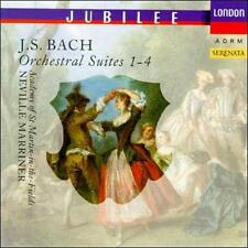 BACH: ORCHESTRAL SUITES NOS. 1-4 NEW CD
