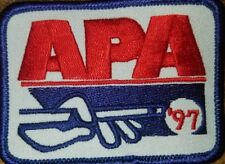 APA 1997 MEMBERSHIP PATCH PATCHES AMERICAN POOLPLAYERS