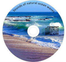 SOUNDS OF NATURAL OCEAN WAVES RELAXATION TINNITUS & SLEEP AID CD 132