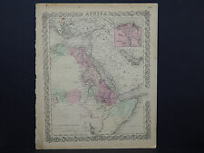 Colton's Maps, 1855, Authentic #34 Africa