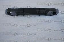 SEIBON Carbon Fiber Diffuser/Rear Lip Spoiler SP for 08-15 Genesis 2D BK