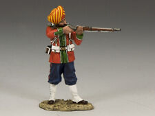KING & COUNTRY SONS OF EMPIRE SOE008M LUDHIANA SIKHS REGT. STANDING FIRING RIFLE