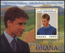 Ghana 2000 SG#MS3037 Prince William 18th Birthday MNH M/S #D74561