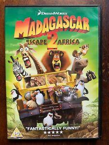 Madagascar Escape 2 Africa DVD 2008 DreamWorks Animated Feature Film Movie