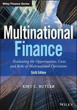 MULTINATIONAL FINANCE - BUTLER, KIRT C. - NEW PAPERBACK BOOK
