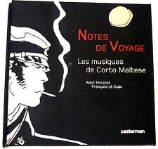 note de voyage les musiques de CORTO MALTESE 3 CD PRATT Tirage limité 5488/8000