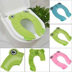 Travel Portable Folding Potty Training Kids Toilet Seat Cover Baby Toddlers UK