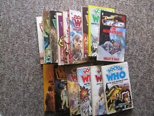 1980's Doctor Who Paperbacks. Fifteen Different. Target Series.