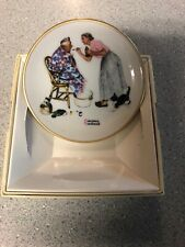 Norman Rockwell Four Seasons Mini Plate - 537, Spring Tonic