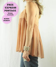 Spaghetti Strap Sleeve Dry-clean Only Casual Solid Tops & Blouses for Women