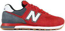New Balance NB 574 Men's Classic Sneakers Lifestyle Shoes Red ML574SKD