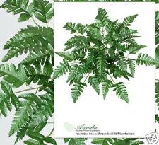 360 Artificial Leather Fern Silk Plants Wholesale Lot