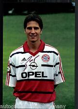 Alexander BUGERA super grandi foto 20x30 cm il Bayern Monaco ORIG. Sign. +2