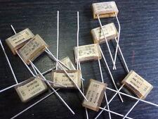 Carta-condensatore di alta qualità! 3300pf (3,3nf) 250v ~ 13x8x4mm 10x 23674