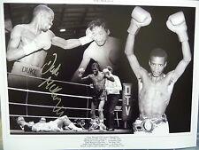 Duke Mckenzie Signed Large Boxing Photograph