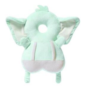 Baby Head Protection Pillow Cartoon Soft Infant Anti-fall Pillow (Elephant)