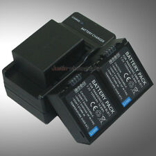 Mains Charger +3x Battery for Panasonic DMW-BLB13 Lumix DMC-G1 DMC-G2 DMC-G10