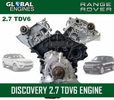 DISCOVERY 2.7 V6 DIESEL ENGINE SUPPLY&FIT BUY WITH CONFIDENCE 100% SATISFACTION