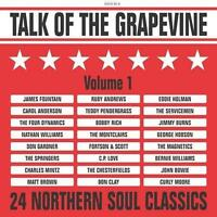 TALK OF THE GRAPEVINE VOLUME 1 Various NEW & SEALED NORTHERN SOUL CD (GRAPEVINE)