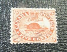 nystamps Canada Stamp # 15 Used $38   J22x2290