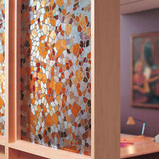 45*100CM Static Window Film 3D Cobble Glass PVC Privacy Covering Bath Glass Stic