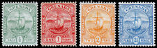 Grenada Scott 68-71 (1906) Mint H F-VF, CV $27.50 M