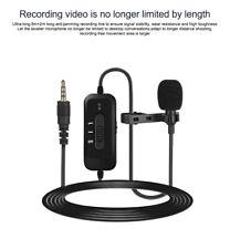 Mamen Professional Lavalier Microphone Mini Lapel Microphone KM-D2