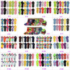 Lot 6-12 Pairs Womens Ankle Socks Assorted Styles Multi Color Size 9-11 New
