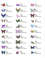 Personalized Address Labels Butterflies All Pictures Buy 3 get 1 free (d1)