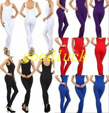 Unisex spandex lycra tank sleeveless zentai suit jumpsuit cosplay catsuit S-5XL