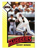 1993 Kenner Starting Lineup Cards #NNO Barry Bonds Sluggers Giants