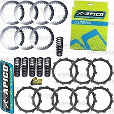 Apico Clutch Kit Steel Friction Plates & Springs For Yamaha WR 450F 2010 Enduro