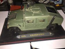 maisto humvee 1:18 Military Truck Rare Armor Holdings Security Award Piece