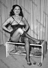 Vintage A4 Photo Poster Print of Pin-up Burlesque Star Mara Gaye-4
