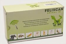 5x felixcan animale microchip chip RFID ISO-transponder CANE GATTO