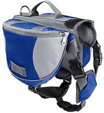 Pet Dog Hiking Camping Extérieur Saddle Bag US Harness Breathable Size Large