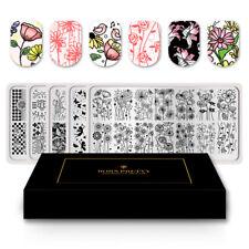 Special Supply BORN PRETTY 5PCS Nail Stamping Plates Kit Flower Strip Mandala