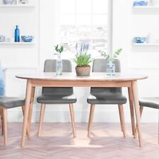 Edvard Olsen Oak extending dining table.Large solid oak oval table.QUALITY
