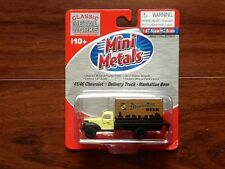 Classic Metal Works 1/87 Ho 41/46 Chev. Delivery Truck Manhattan Beer #30322 F/S