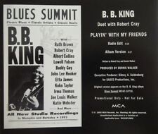 B.B. KING with ROBERT CRAY : PLAYIN' WITH MY FRIENDS - [ CD MAXI PROMO ]