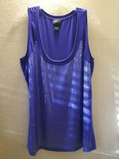 Torrid Sequin Tank Tops Size 1x Free Shipping in the USA Blue