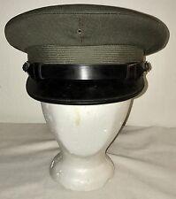 "WWII USMC LIEUTENANT COLONEL HAT VISOR (NO PIN) "" THE BERKSHIRE """