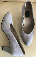 ARMY & JOE made in italy Damen Pumps Gr 37 grau Wildleder