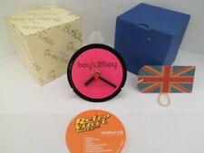 BOY KILL BOY - CLOCK actual VINYL RECORD CENTRE Desk / Side Table Stand