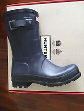 HUNTER BOOTS MEN'S MIGHT-NIGHT ORIGINAL TWO-TONE SHORT ( USA 8 ) $ 185