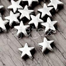 400Pcs FASHION Tibetan Silver Star Bead Spacers TS1994